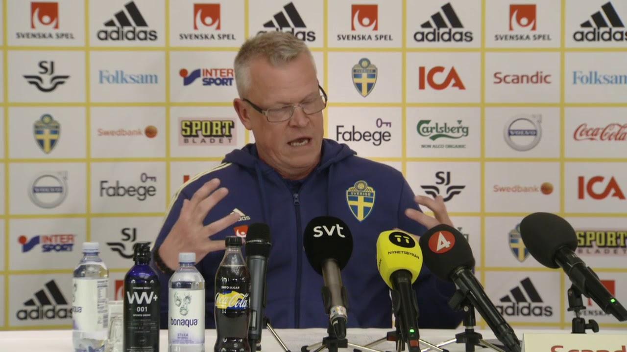 Se hela Janne Anderssons presskonferens - TV4 Sport