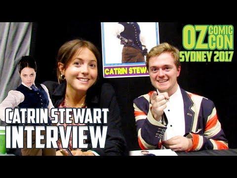 Interrogating Catrin Stewart | Interview | Oz Comic Con