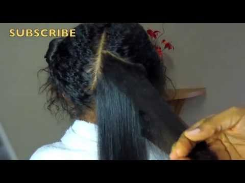 How to Straighten Naturally Curly Hair on Kids w/No Chemicals