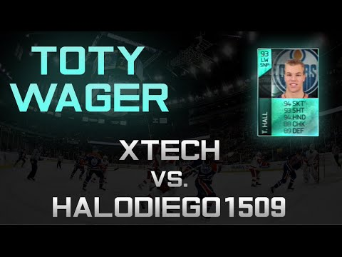 NHL 14: TOTY Wager Vs HaloDiego1509