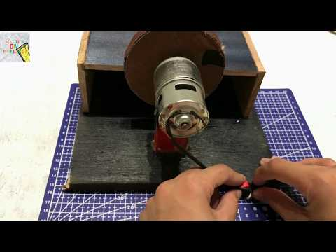 How To Make A Disk Sander at home