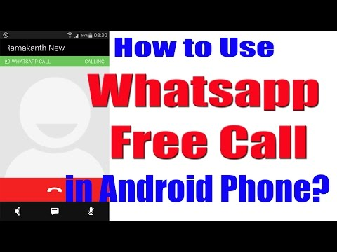 How to Use Whatsapp Call Feature in Android?