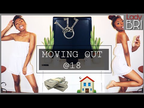 MOVING OUT AT 18, here is what happened! || vlog , storytime