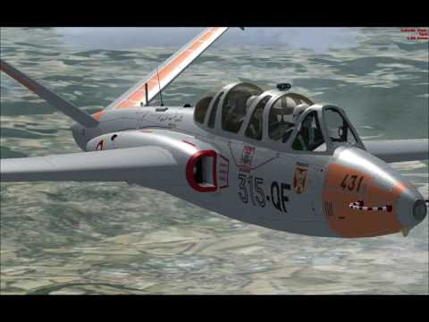 Potez - AirFouga Magister (Marseille to Cannes )-fsx vfr