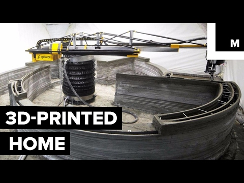 3D printing a home for under $10,000