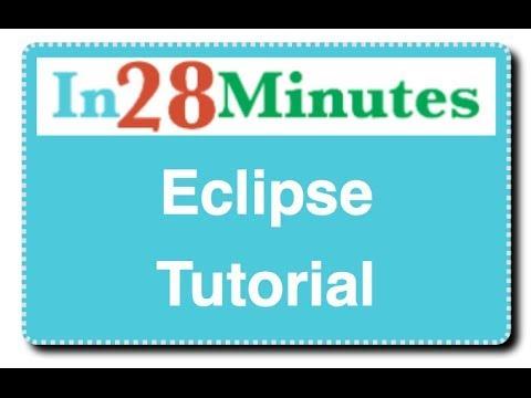 Eclipse Java Tutorial 3 - Editing a Java Class
