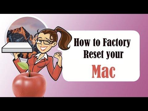  How to : Factory Reset / Hard Reset your MacBook