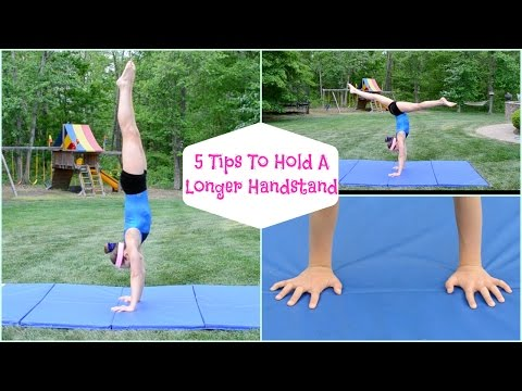 How to Hold A Long Handstand