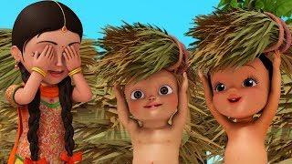 Dagudu Moothalu | Telugu Rhymes for Children | Infobells