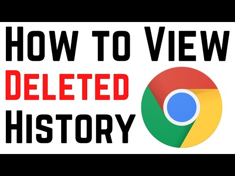 How To View Deleted Browsing History in Google Chrome | See Chrome Deleted History