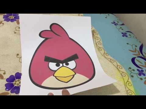 How to make paper mache angry bird? (tagalog)|JanettRamos❤️