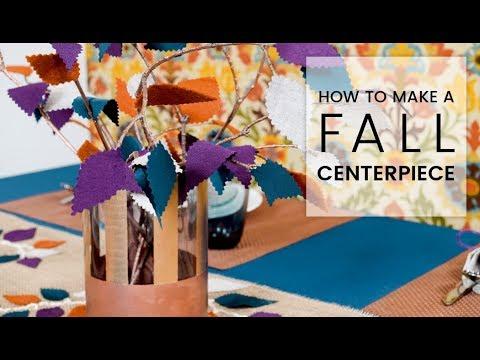DIY Fall Table Centerpiece