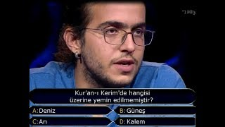 Kim Milyoner Olmak İster? Galatasaray Lisesinden Çagdaş Ve Işte Milyonluk Soru! 2017