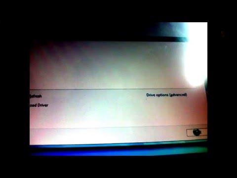 How to install Windows on tablet pc Toshiba Portégé M400