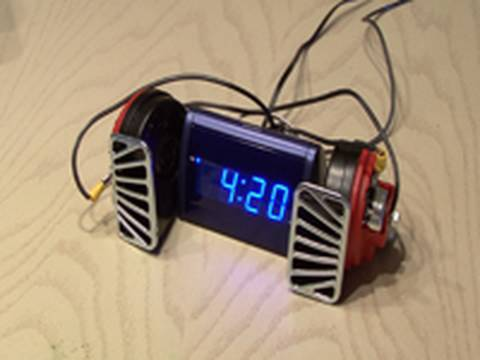 World's Loudest Alarm Clock!