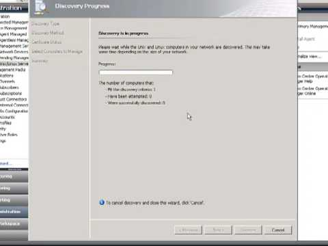OpsMgr R2 - Discover Linux Server