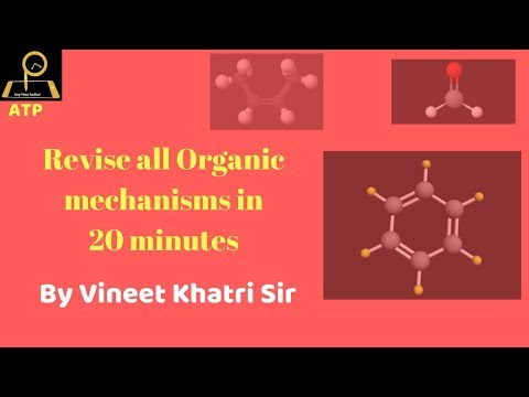 Revise Organic Mechanisms in 20 minutes