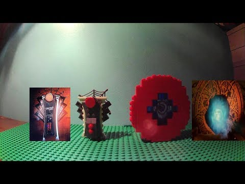 Lego Zombies Perk Machines Widow's Wine/Shadows Of Evil Pack-A-Punch With Instructions
