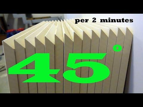 45 degree tile cut