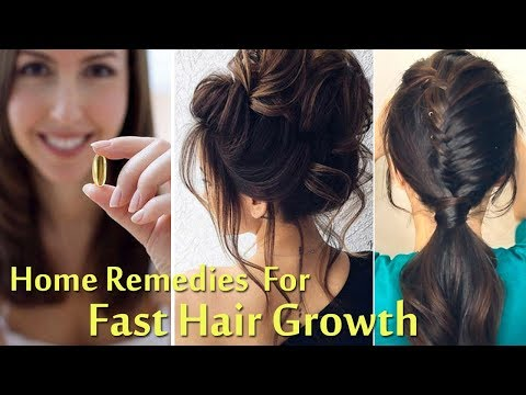 Hair Growth | Hair Regrowth | Hair Fall | Hair Loss | Amazing Home Remedies for Fast Hair Growth