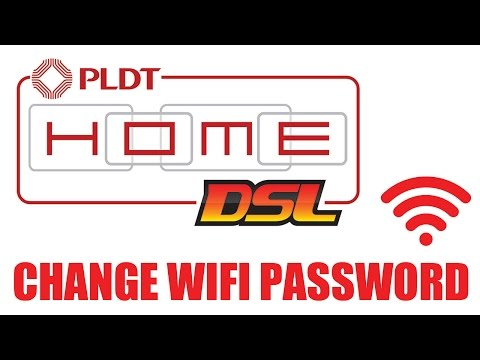 How to Change PLDT Home DSL WiFi Password 2017