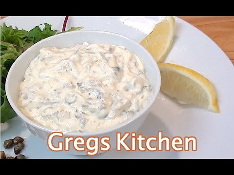 HOW TO MAKE TARTAR SAUCE - Greg's Kitchen