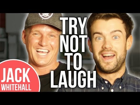 Jack Whitehall vs. Jamie Laing | Try Not To Laugh Challenge | Pt 1