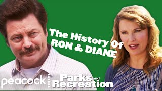 The History of Ron and Diane - Parks and Recreation