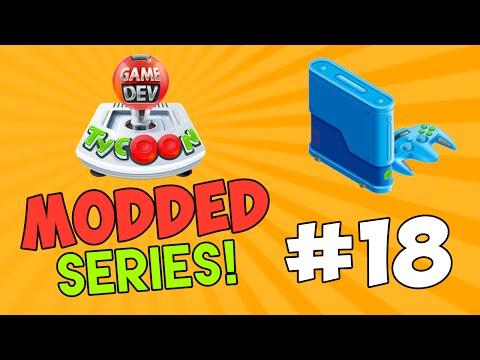 Game Dev Tycoon Modded #18 - MAKING A CUSTOM CONSOLE w/Seniac