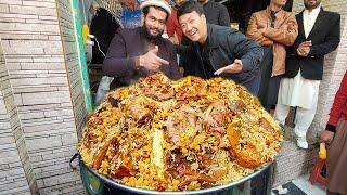 MEAT & BONE MARROW MOUNTAIN & BBQ Heaven! STREET FOOD in Peshawar Pakistan
