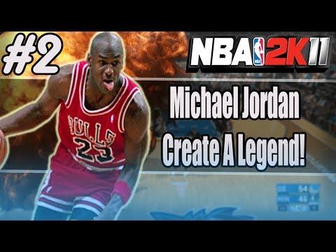 NBA 2K11 - MICHAEL JORDAN CREATE A LEGEND! #2 - JORDAN POSTERS KEVIN GARNETT!