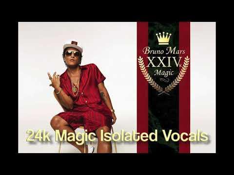 Bruno Mars - 24k Magic Isolated Vocals (Studio Acapella)