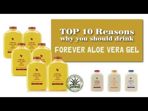 Top 10 Reasons to drink FOREVER ALOE VERA GEL