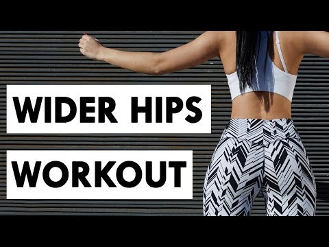 🍑How To Get Wider Hips & Bigger Glutes | 6 Minute Bigger Hips & Butt Workout For Curves!