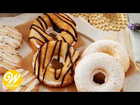 Baked Sour Cream Donut Sandwich Recipe | Wilton