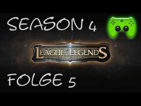 LEAGUE OF LEGENDS # 5 - Season 4 Ranked 5/10 «» Let's Play League of Legends | HD