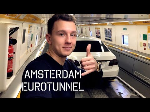London to Amsterdam - EUROTUNNEL