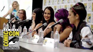 Highlights from WWE Superstars panel at Mattel