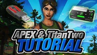 Fortnite Battle Royale - XIM Apex + Titan Two One-Button Building Script  Tutorial - getplaypk
