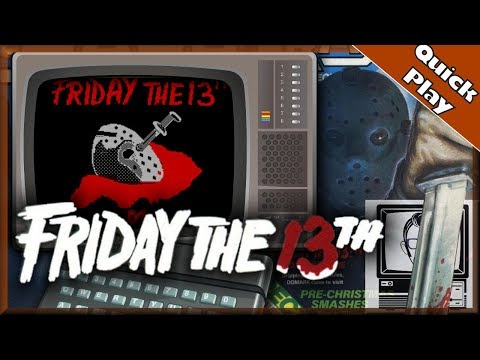 Friday the 13th Game - 1986 [Quick Play] | Nostalgia Nerd