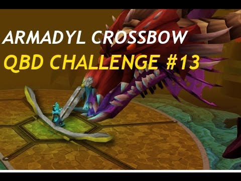 Armadyl Crossbow - QBD Challenge #13 *Royal Sight Drop* [Runescape]