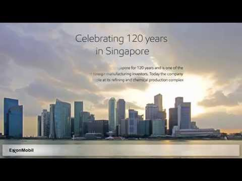 ExxonMobil – 120 Years in Singapore