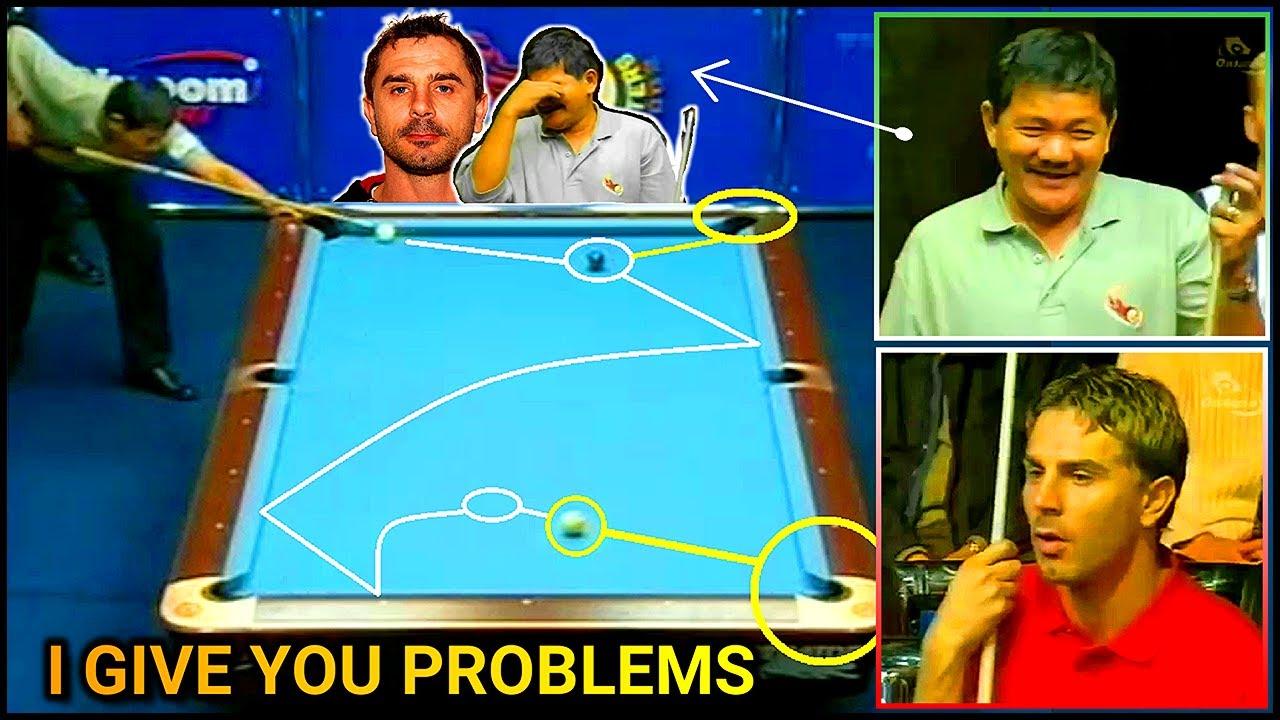 The FABULOUS Italian gave Efren Reyes PROBLEMS | Intense Match -Back to Back Golden Breaks