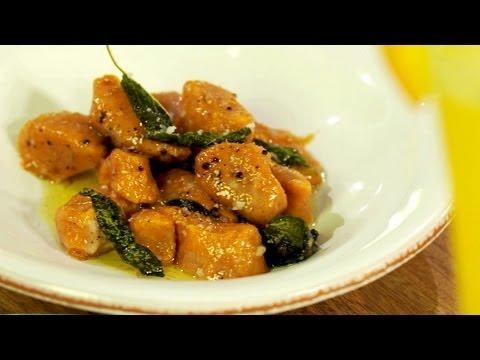 Sweet Potato Gnocchi - Gluten Free with Alex T