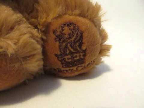 The Ritz Carlton Hotel Lion Mascot Stuffed Plush Animal Soft Toy