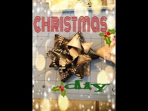 DIY: Gift Bows.........Its CHRISTMAS time!!!