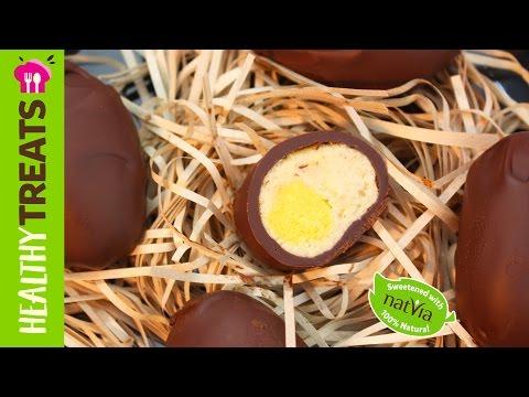 Vegan Chocolate Easter Eggs - Natvia's Healthy Treats