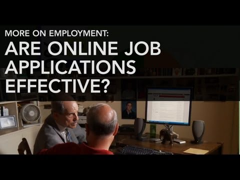 Is Applying for Jobs Online an Effective Way to Find Work?