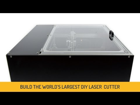 DIY 40W CO2 Laser Cutter and Engraver Project (60cm×44cm Cutting Area)