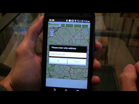ArcGIS-what3words Mobile Offline Demo